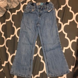 Girls old navy boot cut jeans